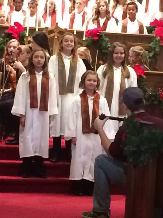 Behind the scenes: Born on Christmas Day with One Voice Children's Choir | Reese Oliveira